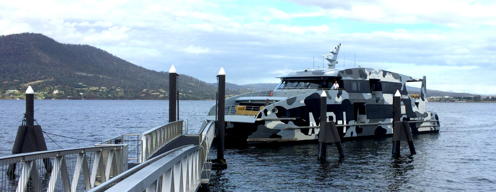 The MONA Ferry, Hobart, New Zealand