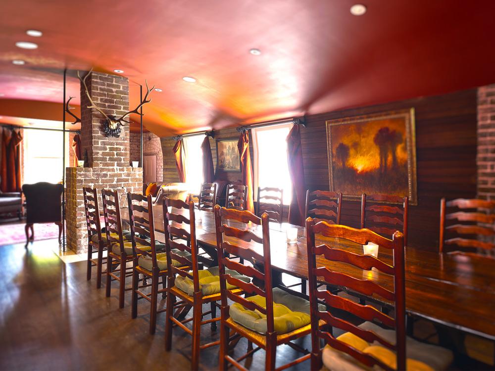 Bar at the hotel