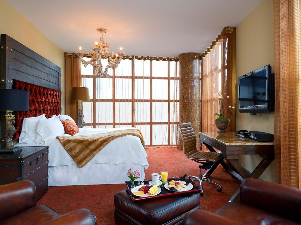 Quintessential hotel room