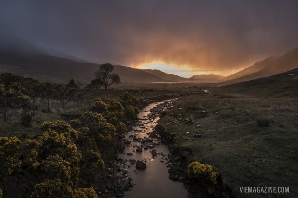 """Renvyle: An Irish Timescape,"" Connemara Life magazine 2015 – Photo by Mark Furniss"