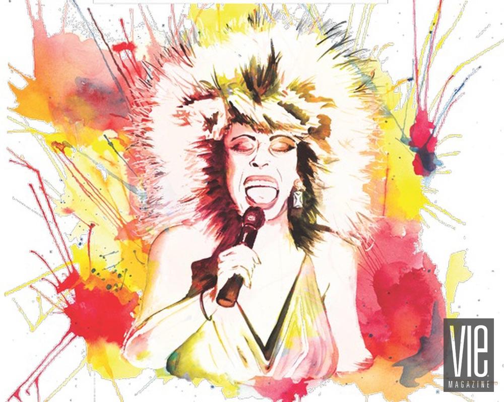 art of the scream artwork of tina turner