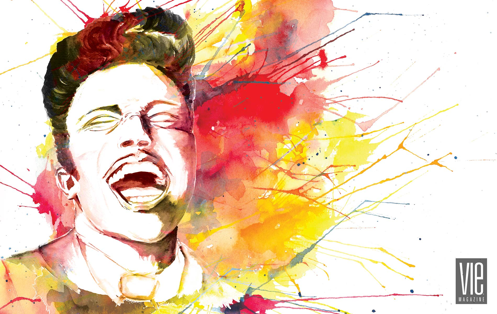 little richard art of the scream art piece lucy mashburn