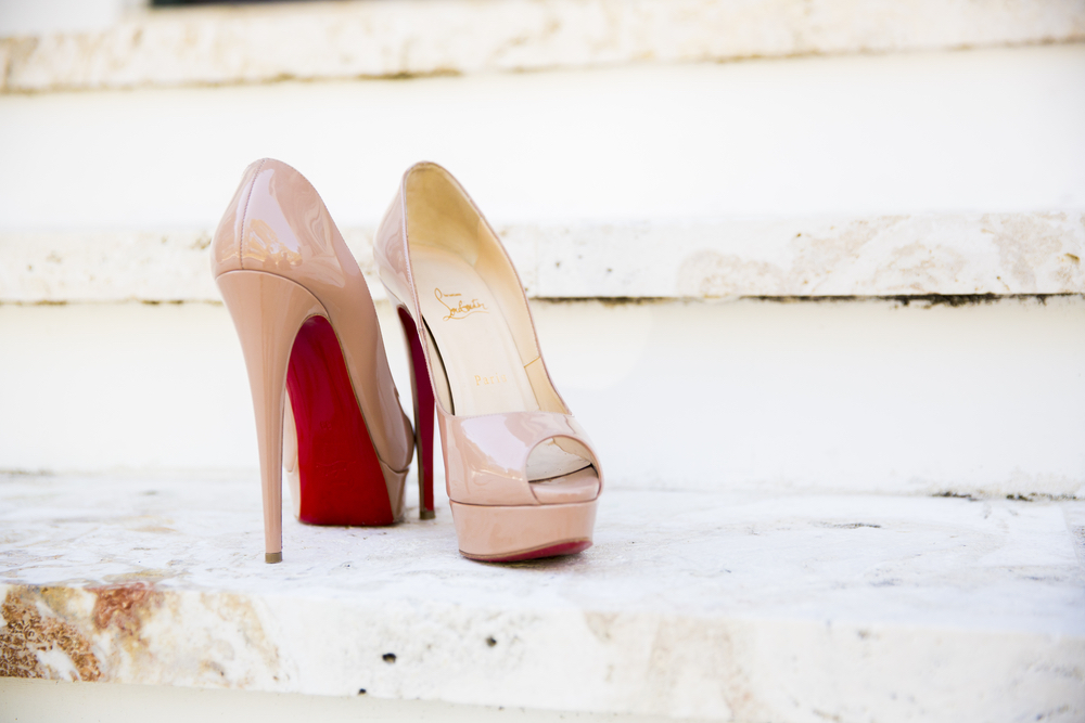 shoes on a step