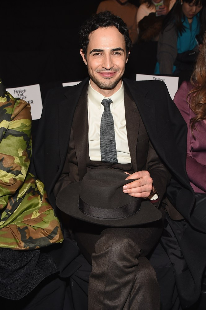 Designer Zac Posen attends Naomi Campbell's Fashion For Relief Charity Fashion Show