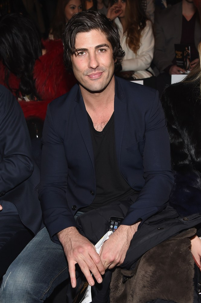 Brandon Davis attends Naomi Campbell's Fashion For Relief Charity Fashion Show