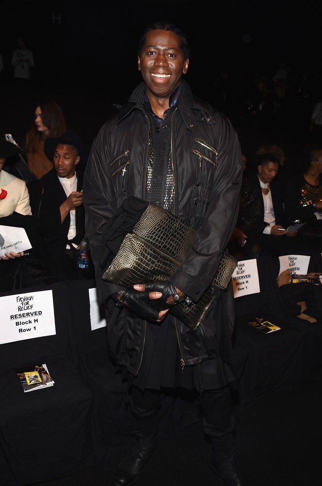 J Alexander attends Naomi Campbell's Fashion For Relief Charity Fashion Show