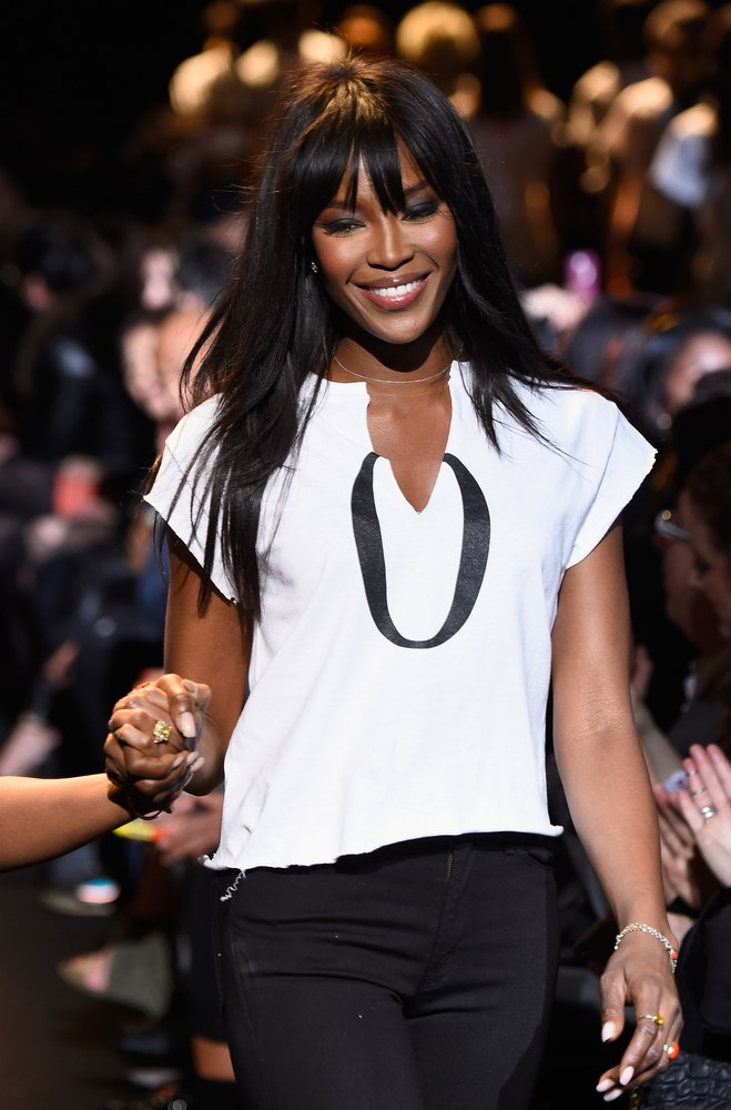 Queen of the Runway Naomi Campbell's Fashion for Relief Show