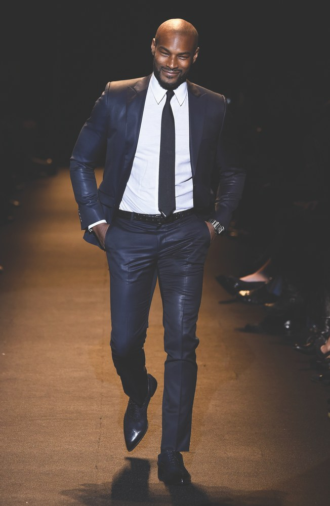 Queen of the Runway model Tyson Beckford naomi campbell fashion for relief