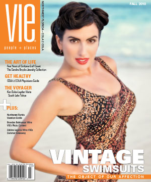 VIE Magazine Fall 2010 Issue - Vintage Swimsuits