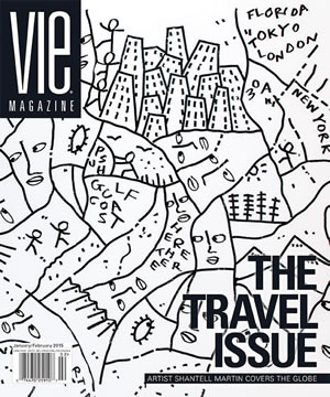 VIE Magazine January/February 2015 - The Travel Issue