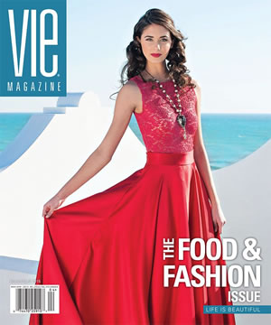 VIE Magazine March/April 2015 - The Food & Fashion Issue