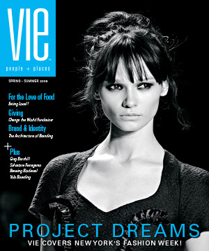 VIE Magazine's Inaugural Issue Spring 2008 - New York Fashion Week