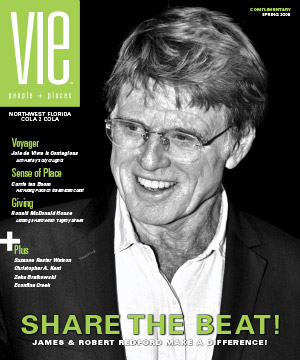 VIE Magazine Spring 2009 Issue - James & Robert Redford