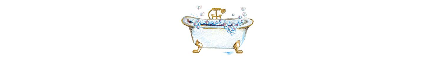bathtub drawing