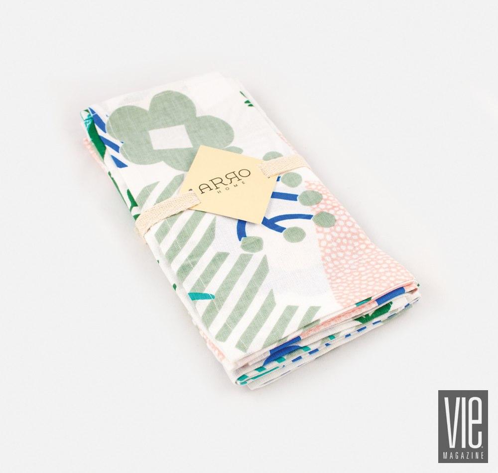 Arro Home Jungle pattern napkin set