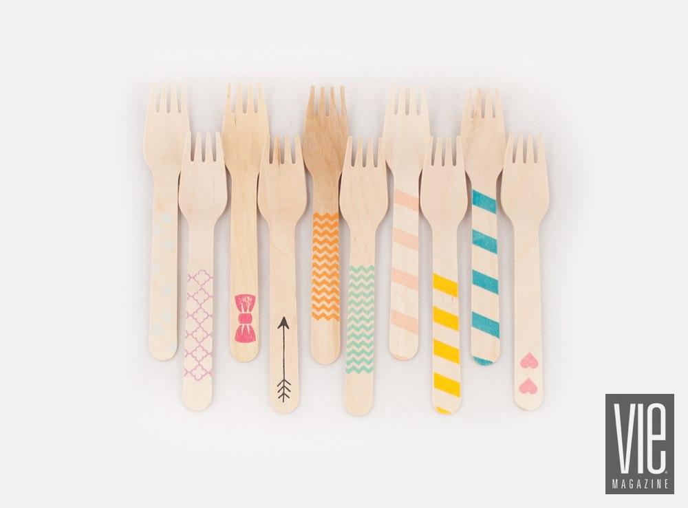 Sucre Shop wooden utensils variety pack