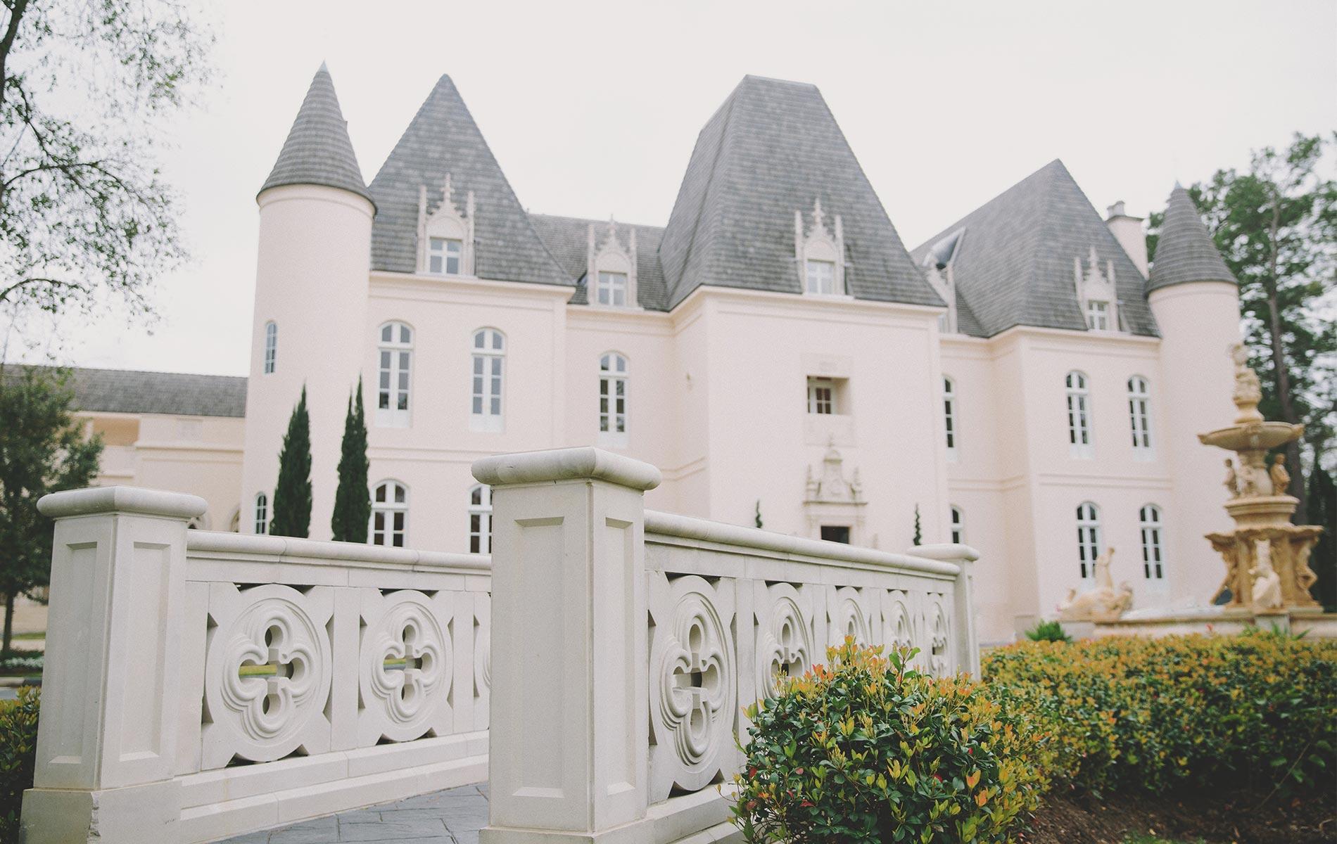 Castle looking wedding venue