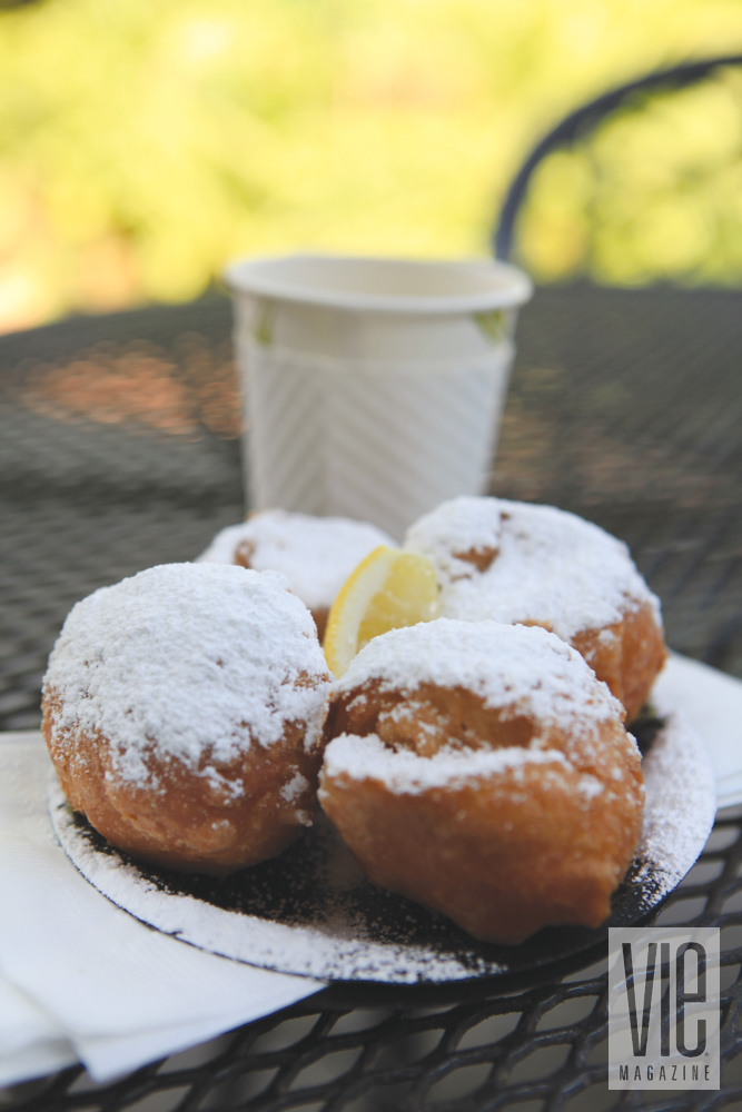 Beignet dessert in Fairhope, Alabama
