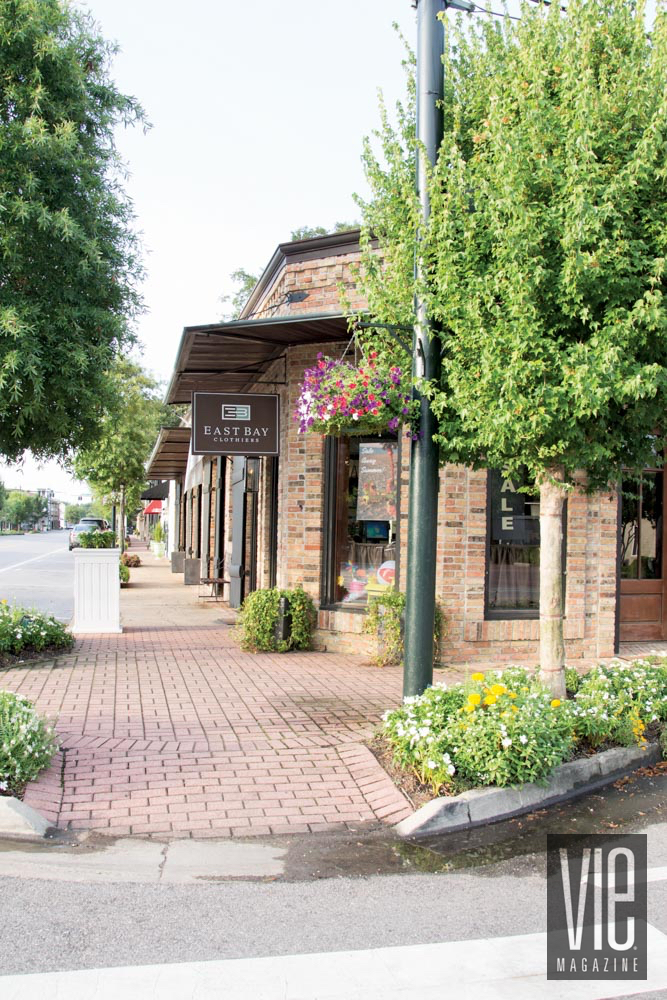 Storefront outdoor in Fairhope, Alabama