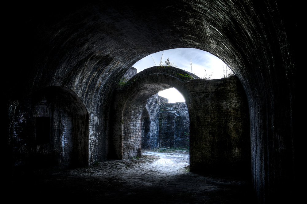 Fort Pickens at Gulf Islands National Seashore in Florida's Pandhandle; Photo by Bill Weckel