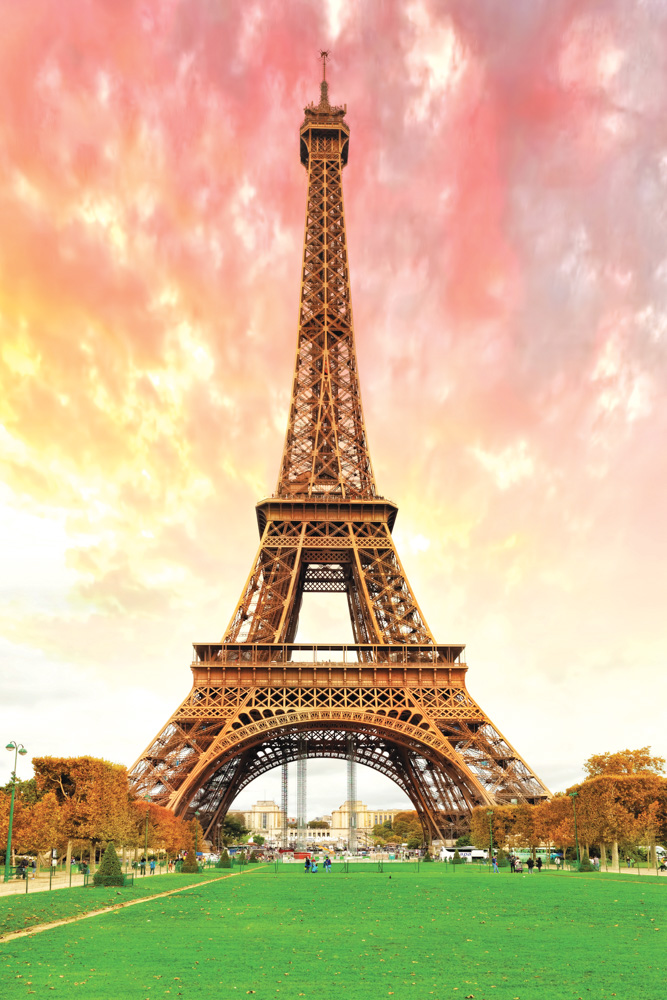 VIE Magazine Playing Paris by Ear Eiffel Tower Champs De Mars