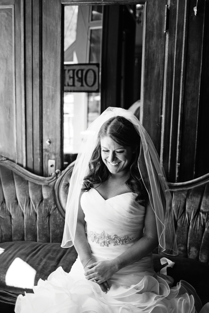 Telluride wedding bride