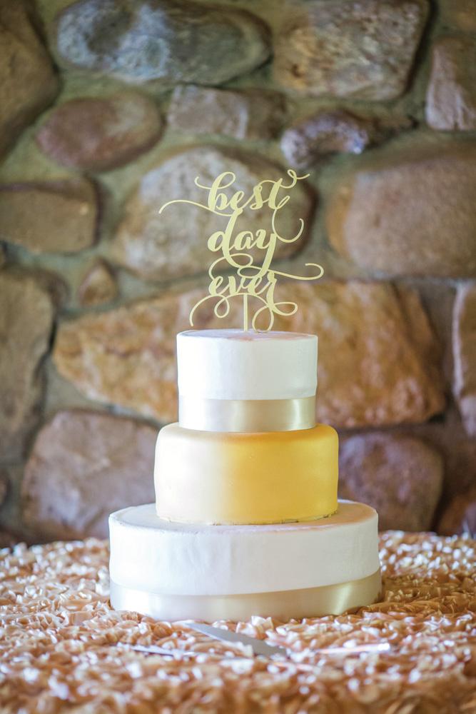 Telluride wedding cake