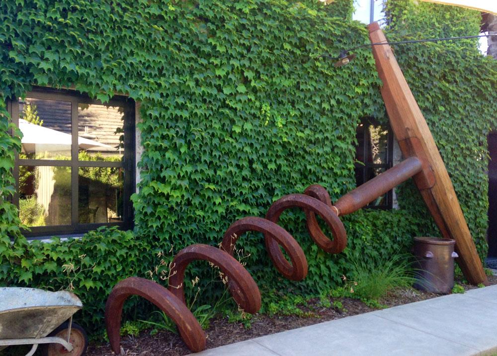Sculpture at Ma(i)sonry Napa Valley