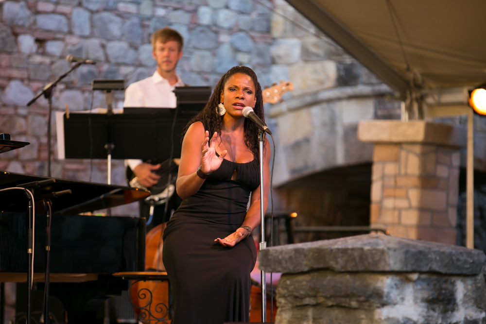 Tony Award–winning actress and singer Audra McDonald
