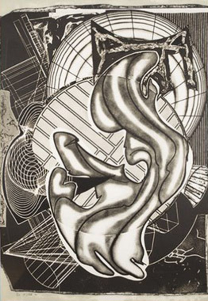 Vie Magazine Stubb and Flask Kill a Right Whale, Frank Stella – Etching (1991)