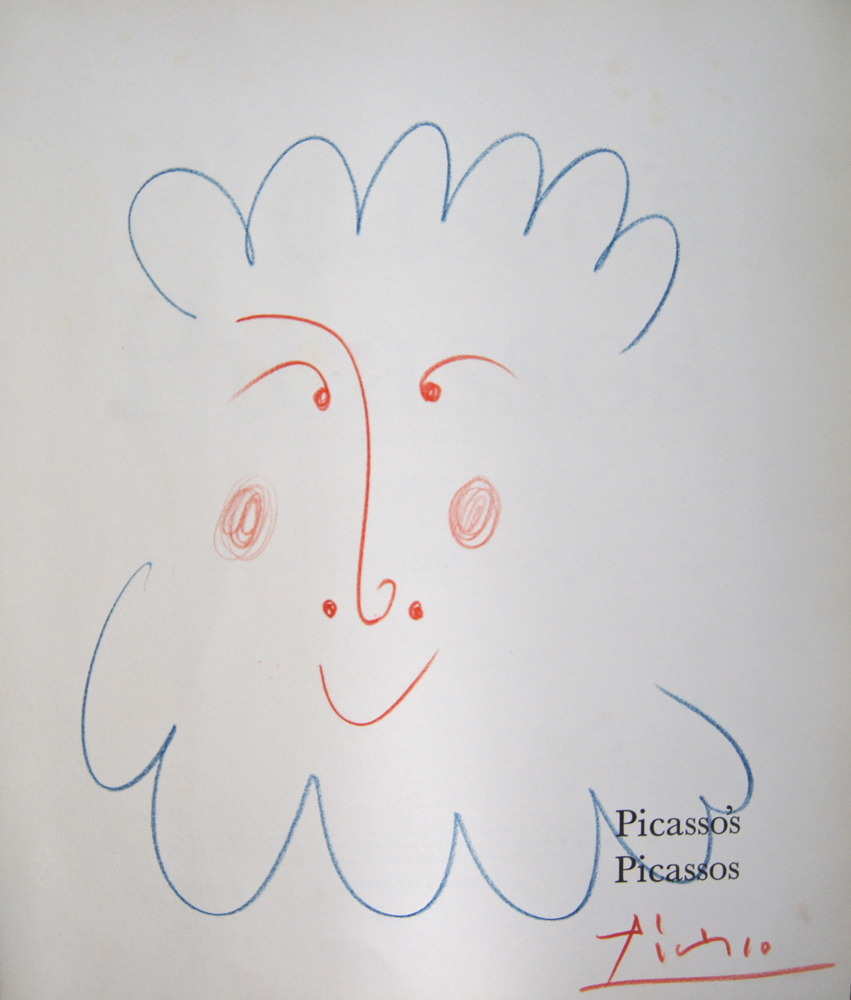 Vie Magazine Original Drawing from Picasso's Picassos