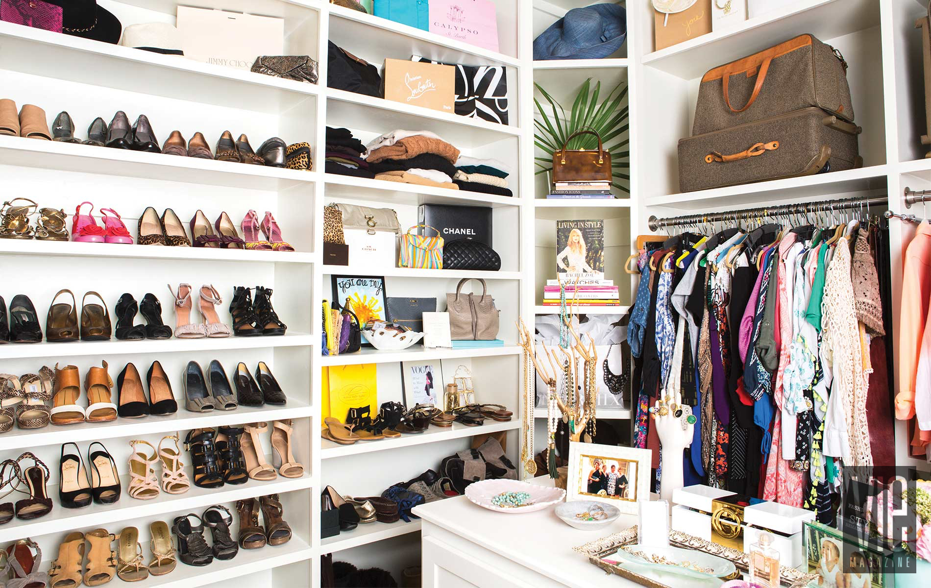 Wardrobe Made Simple Amy Giles Stylist Closet full of clothes