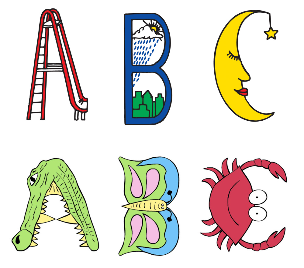 VIE Magazine Parents Grandparents Childhood Treasures Next Generation Alphabet Letters