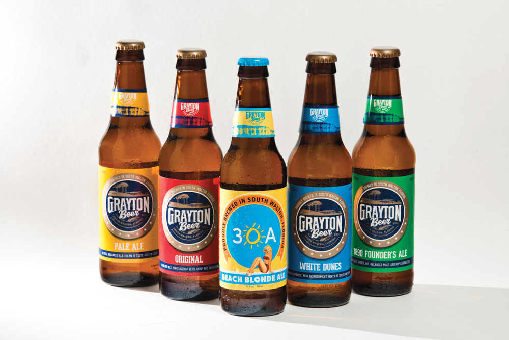 Grayton Beer Company Assortment Walton County Cola to Cola Florida Gulf Coast
