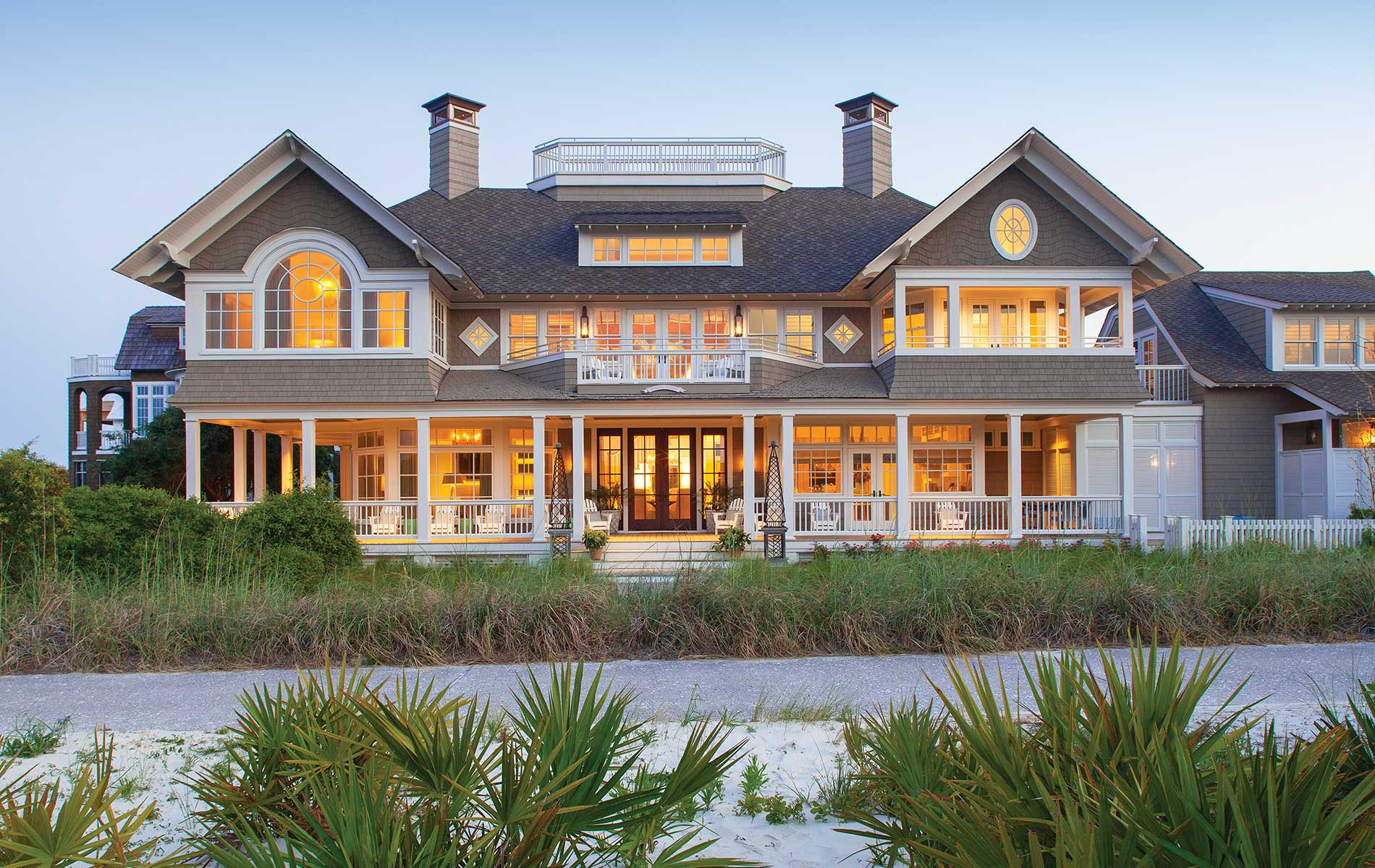 VIE Magazine Legacy Home designed by New York Architect John Kirk, residing in WaterSound Beach, Florida