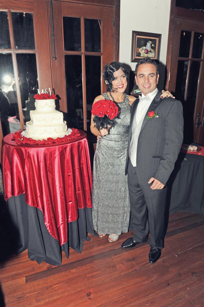 Jimy and Marta Rose Thorpe Roaring Twenties Wedding