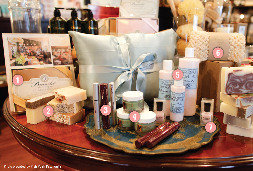 Pish Posh Patchouli's bridal must haves rosemary beach apothecary boutique vie magazine
