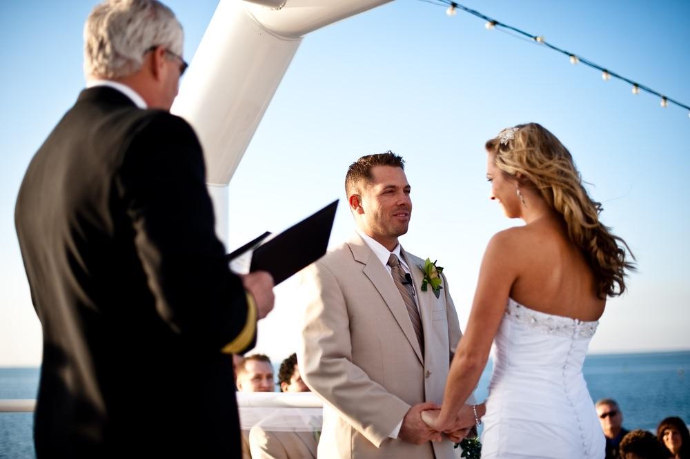 VIE Magazine sunquest cruises ship wedding bride groom newlyweds