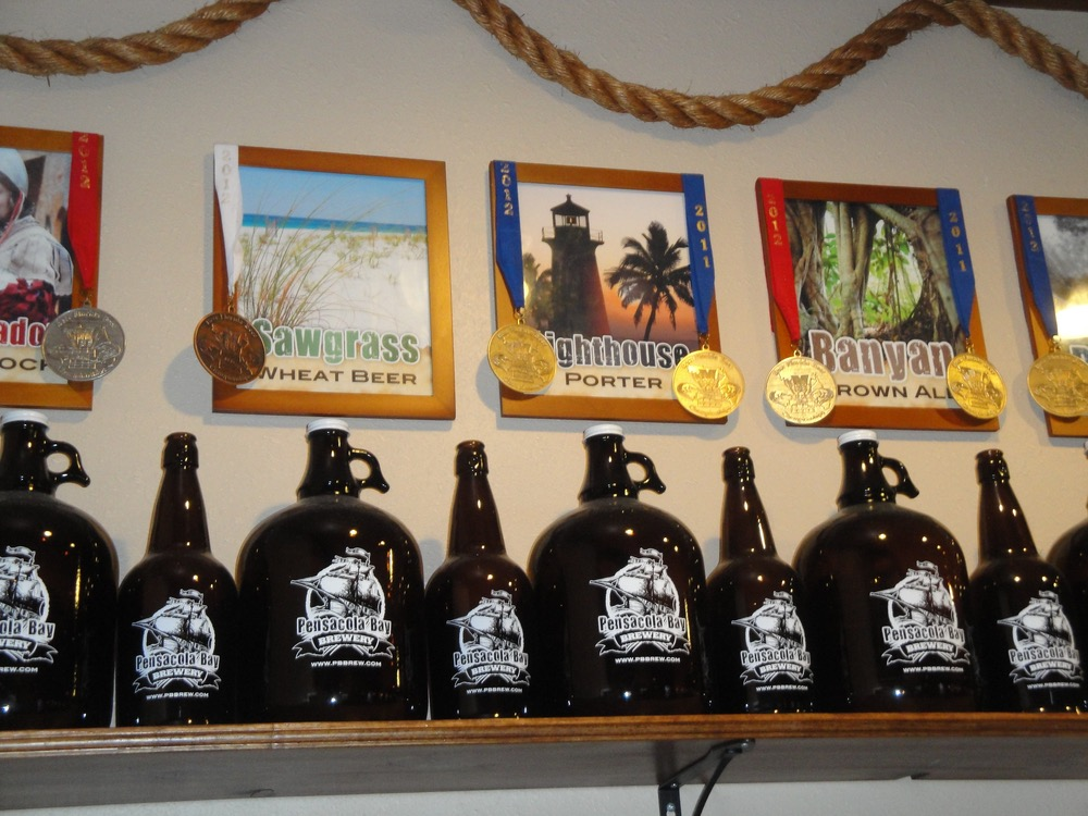 """Flip tops"" and ""growlers"" available for to-go orders"
