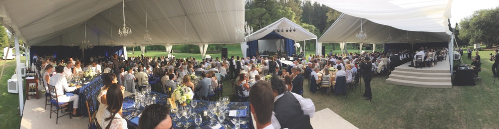 The annual Festival del Sole gala at Meadowood Napa Valley