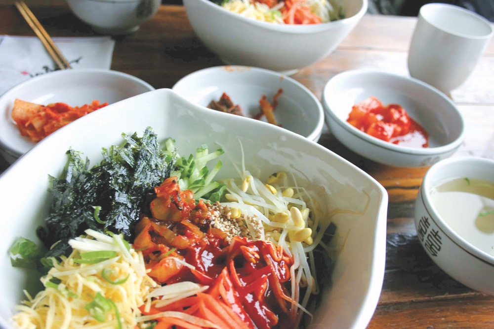 VIE magazine Kimchi South Korea Korean Bibimbap