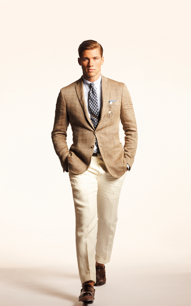 Texture was a key factor in Ralph Lauren's spring line Photo courtesy of Ralph Lauren