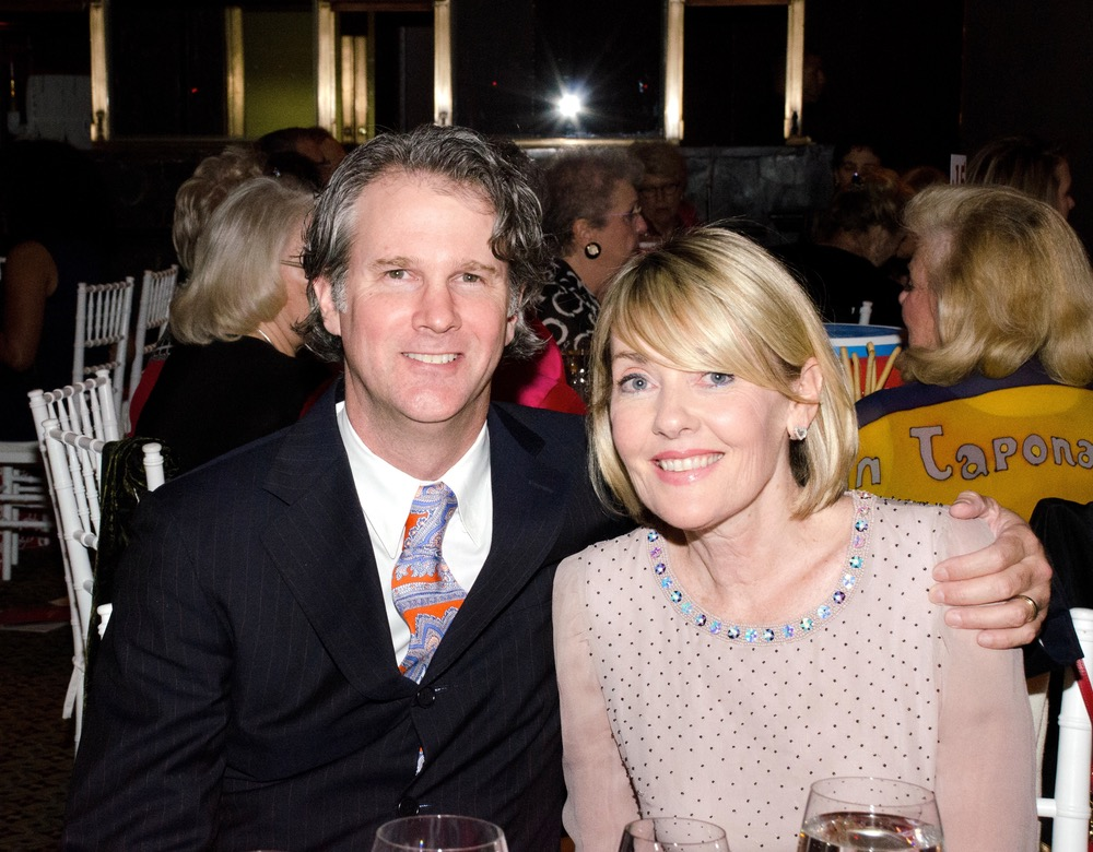 VIE publisher Lisa Burwell with husband and editor-in-chief Gerald Burwell attend the Ms. Foundation's Gloria Awards