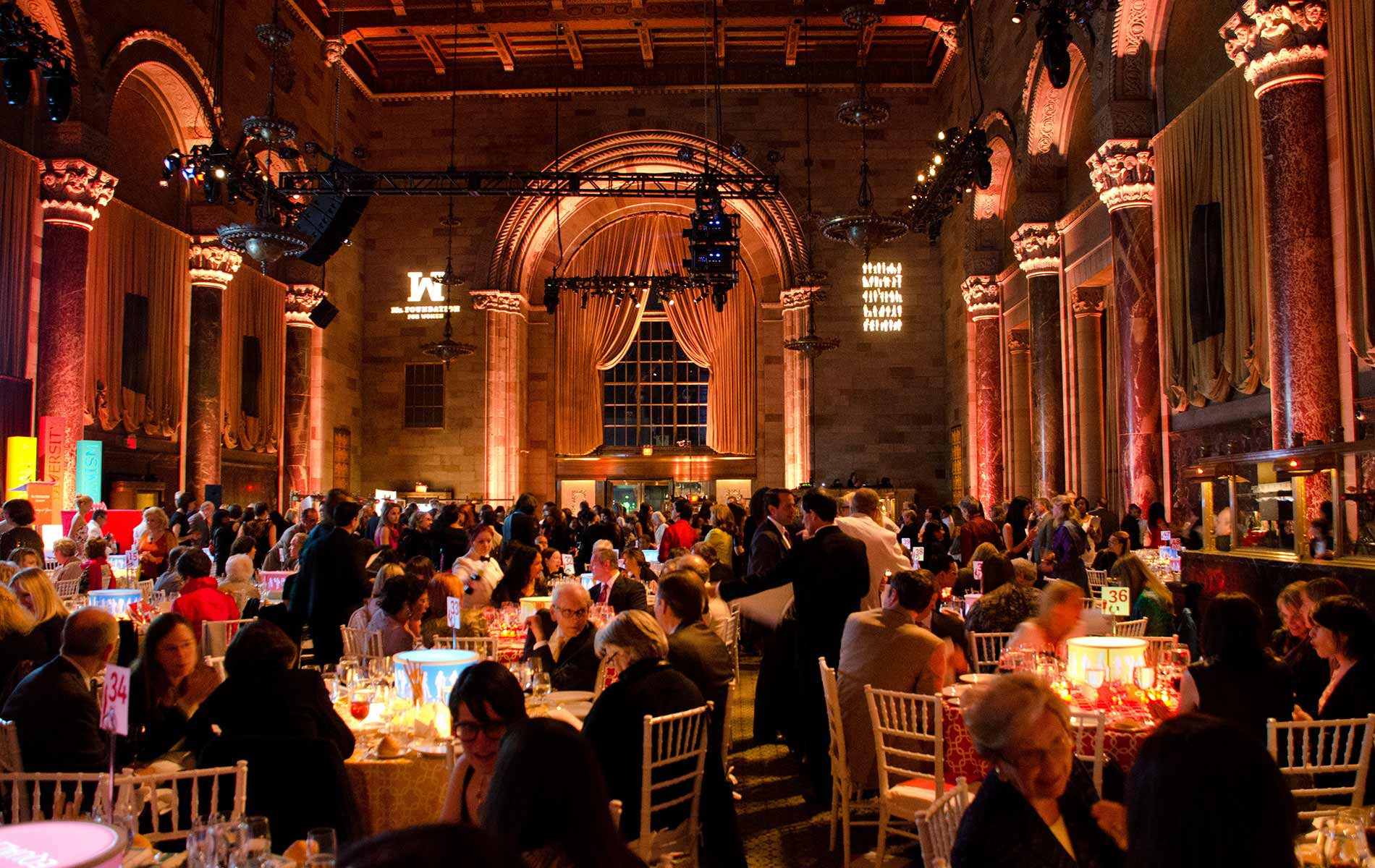 Twenty-Fifth Annual Gloria Awards banquet in the spectacular grand hall of Cipriani 42nd Street