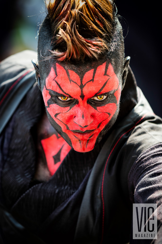Darth Maul costume at Dragon Con