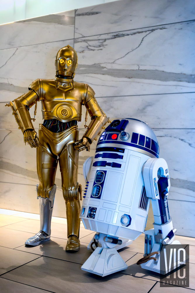 R2-D2 and C-3PO from Star Wars at Dragon Con