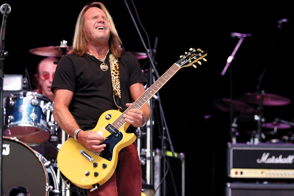 Foghat at Panama City Beach, Florida, Seafood and Music Festival 2014