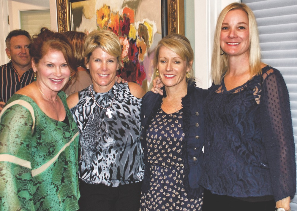 Pam Burden, Laurie Beck, Mary Jane Kirby, and Kathy Barry