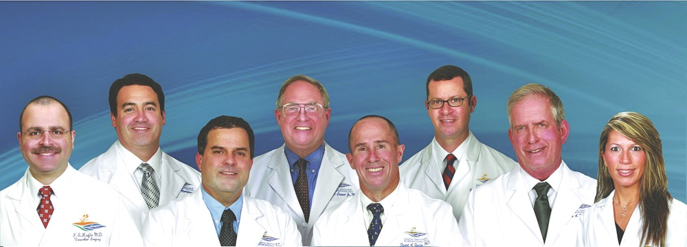 The Doctors of Coastal Vascular and Interventional Photo by J.D. Hayward