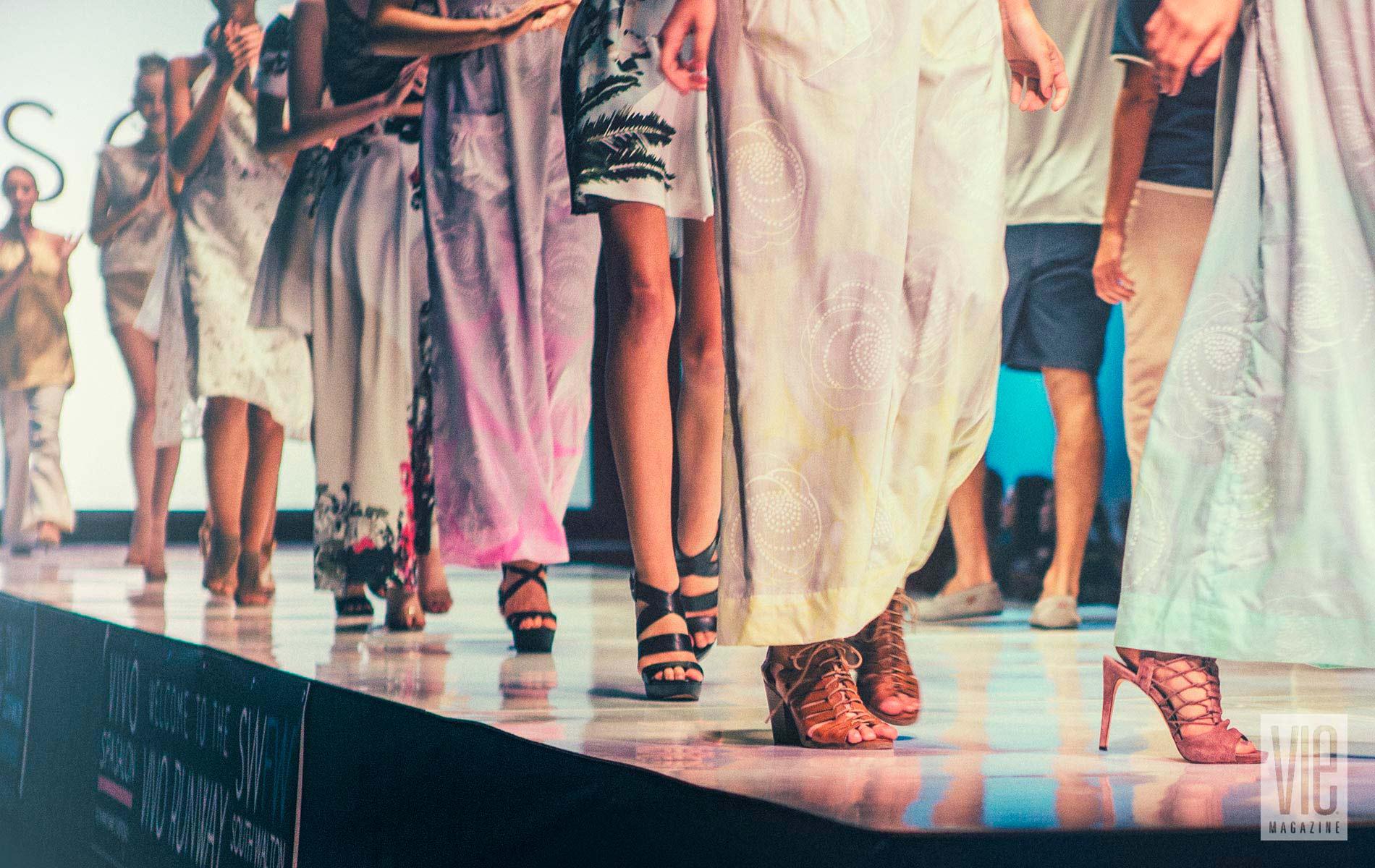 South Walton Fashion Week runway view